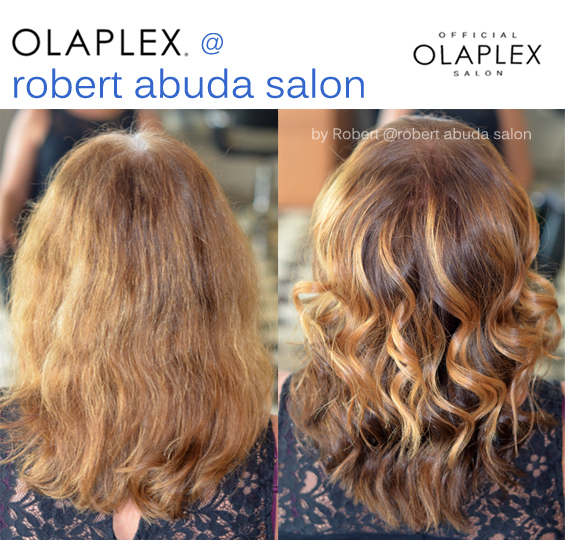 Color y balayage Robert Abuda salon
